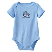 Baby Boy Jumping Beans® Plaid Embroidered Slubbed Bodysuit