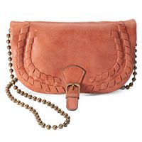 T-Shirt & Jeans Laced Crossbody Bag