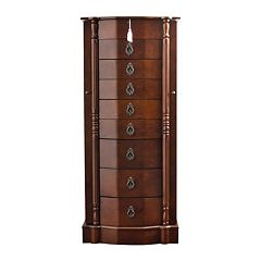 Hives & Honey Robyn Wooden Jewelry Armoire by