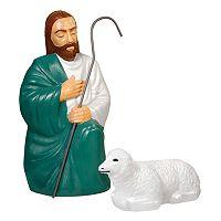 General Foam Plastics Shepherd & Sheep Indoor / Outdoor Christmas Decor 2-piece Set