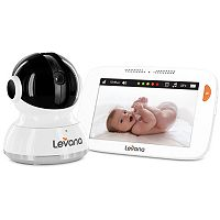Levana Willow 5-in. HD Touchscreen Pan, Tilt & Zoom Video Baby Monitor & Camera