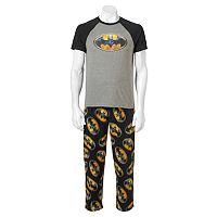 Men's 2-Piece DC Comics Batman Tee & Pants Loungewear Set
