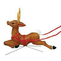 General Foam Plastics Reindeer Indoor / Outdoor Christmas Decor