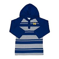 Toddler Two Feet Ahead Michigan Wolverines Long-Sleeve Hooded Shirt