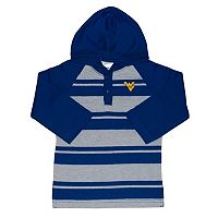 Toddler Two Feet Ahead West Virginia Mountaineers Long-Sleeve Hooded Shirt