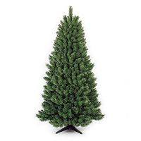 General Foam Plastics 6.5-ft. Artificial Half Christmas Tree
