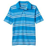 Boys 8-20 Urban Pipeline® Ultimate Striped Slubbed Polo