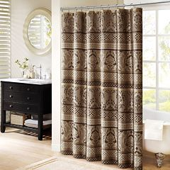Madison Park Venetian Jacquard Shower Curtain by