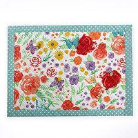 Celebrate Spring Together Floral Placemat