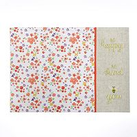 Celebrate Spring Together Floral Bee Placemat