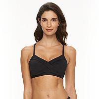 Women's Apt. 9® Crisscross Bikini Top