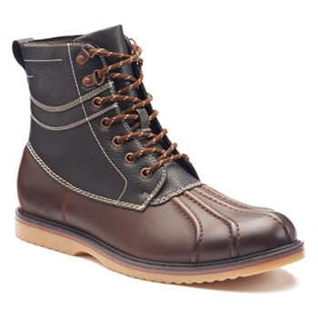 Sonoma Goods For Life Mens Duck Boots Brown Black