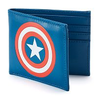 Men's Marvel Captain America Bifold Wallet