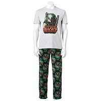 Men's Star Wars Boba Fett Tee & Pants Loungewear Set