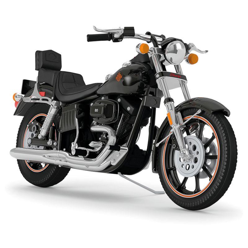 Harley-Davidson 1980 FXB Sturgis 2016 Hallmark Keepsake Christmas Ornament, Black