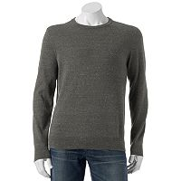 Big & Tall SONOMA Goods for Life™ Classic-Fit Solid Fine Gauge Crewneck Sweater