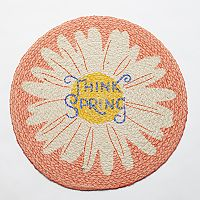 Celebrate Easter Together Think Spring Round Placemat