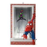 Marvel Spider-Man Slinging & Swinging 2016 Hallmark Keepsake Christmas Ornament
