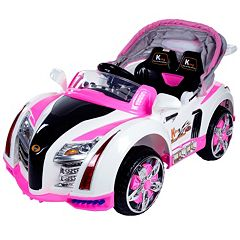 Lil' Rider Battery Operated Car with Canopy Ride-On by