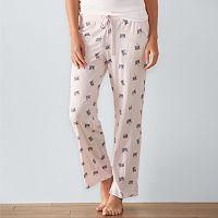 Women's SONOMA Goods for Life™ Pajamas: Knit PJ Pants