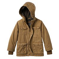 Boys 4-7 Urban Republic Hooded Sherpa-Lined Midweight Jacket