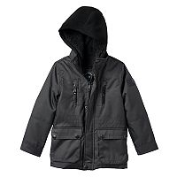 Boys 4-7 Urban Republic Ballistic Hooded Sherpa-Lined Midweight Jacket