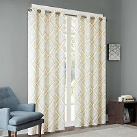 INK+IVY Bas Etched Patterned Curtain