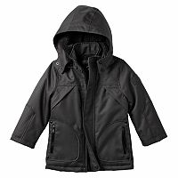 Boys 4-7 Urban Republic Ballistic Sherpa-Lined Hooded Midweight Jacket