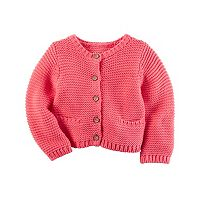 Baby Girl Carter's Textured Knit Cardigan