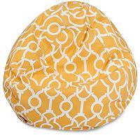 Majestic Home Goods Athens Indoor / Outdoor Small Beanbag Chair