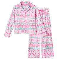 Girls 4-16 SO® Pattern Pajama Set