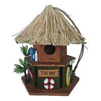 Celebrate Spring Together Tiki Bar Birdhouse