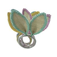 Celebrate Easter Together Bunny Ears Napkin Ring 4-pk.
