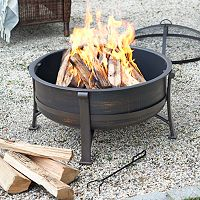 SONOMA Goods for Life™ Outdoor Metal Deep Fire Pit