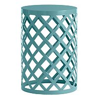SONOMA Goods for Life™ Indoor / Outdoor Lattice Accent Table & Stool