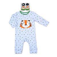 Baby Boy Vitamins Baby 2-pc. Coverall & Socks Set