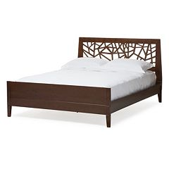 Baxton Studio Jennifer Tree Branch Inspired Platform Bed Frame by