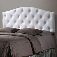 Baxton Studio Myra Faux-Leather Upholstered Queen Headboard