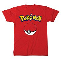Men's Pokemon Ball Tee