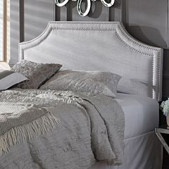Baxton Studio Avignon Upholstered Headboard by