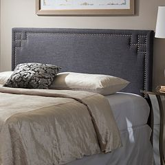 Baxton Studio Geneva Upholstered Headboard by