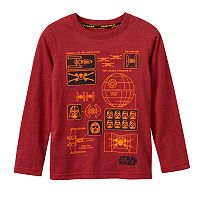 Boys 4-7x Star Wars a Collection for Kohl's Blueprint Gel Graphic Tee