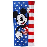 Disney's Mickey Mouse America Beach Towel by Jumping Beans®