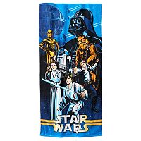 Star Wars Character Beach Towel