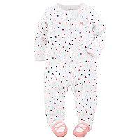 Baby Girl Carter's Polka-Dot Ballerina Sleep & Play