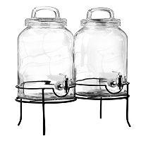 Style Setter SoHo Savannah Beverage Dispenser Set