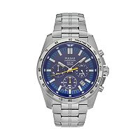 Pulsar Men's On The Go Stainless Steel Solar Chronograph Watch - PZ5001