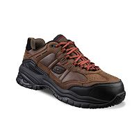 Skechers Work Relaxed Fit Soft Stride Constructor II Men's Composite-Toe Shoes