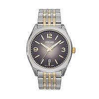 Pulsar Men's Traditional Two Tone Stainless Steel Watch - PS9483