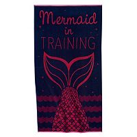 Celebrate Summer Together Mermaid Beach Towel